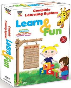 COMPLETE LEARNING SYSTEM LEARN & FUN poster