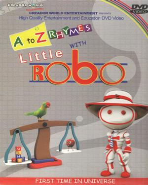 A to Z Rhymes with Little Robo poster