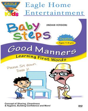 Baby Steps Good Manners -Learning First Words poster