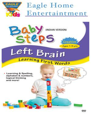 Baby Steps Left Brain - Learning First Words poster