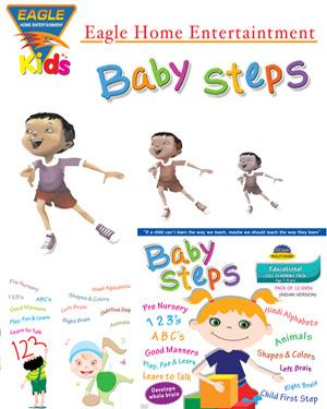 Baby Steps Educational Full Learning Pack poster