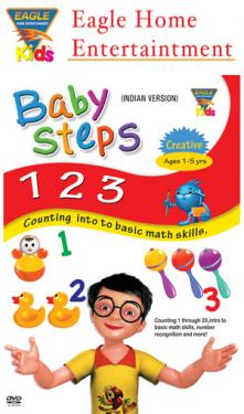 Baby Steps 123 -Counting Into To Basic Math Skills poster