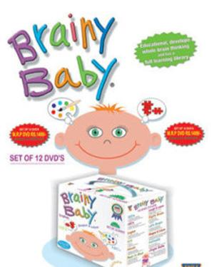 BRAINY BABY - Set Of 12 Educational English  DVD