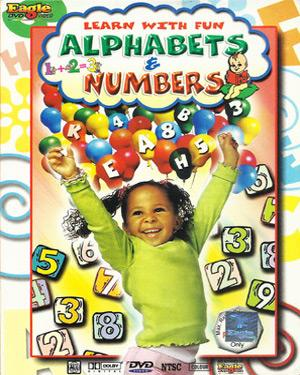 LEARN WITH FUN ALPHABET & NUMBER DVD