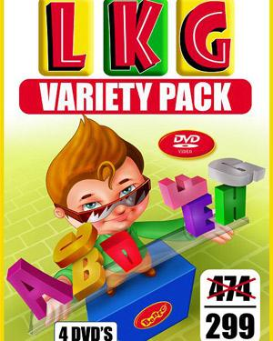 LKG 4 DVD Variety Pack for Kids poster