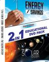 2 IN 1 EDUCATIONAL DVD PACK - ENERGY SAVING AND THE SOLAR SYSTEM DVD