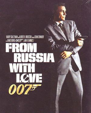 007-FROM RUSSIA WITH LOVE poster
