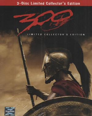 300 Limited Collecters Edition  movie