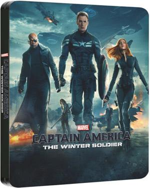 Captain America - The Winter Soldier Steelbook poster