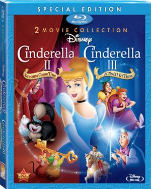 Cinderella 2 and 3 - Special Edition 2012 poster