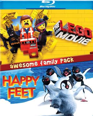 The Lego Movie + Happy Feet  movie