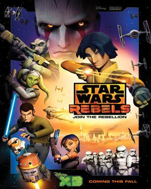 Star Wars Rebels - Spark Of Rebellion poster