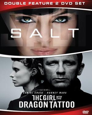 Girl With The Dragon Tattoo and Salt poster