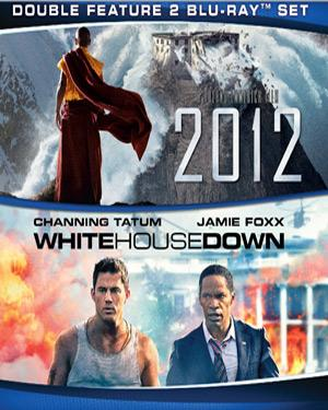 2012 and White house Down poster