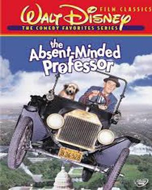 The Absent-Minded Professor poster
