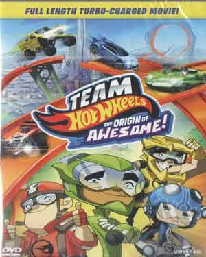 TEAM HOT WHEELS THE ORIGIN OF AWESOME poster