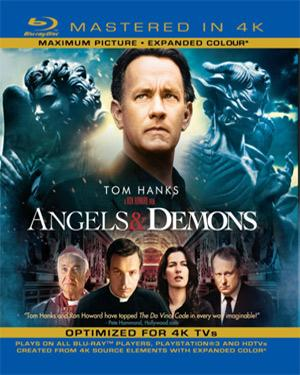 Angels And Demons - BD 4K  movie