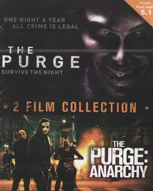 2 Film Collection The Purge Survive The Night & The Purge - Anarchy poster