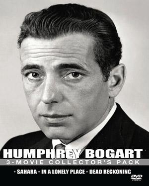 HUMPHREY BOGART - 3 Movies Collector poster