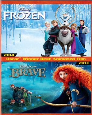 Frozen & Brave poster