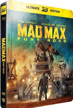 Mad Max: Fury Road - 3D BD Steel Book poster