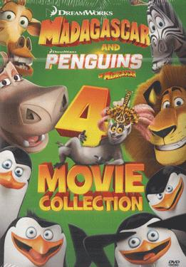 Buy MADAGASCAR 4 MOVIE COLLECTION DVD online