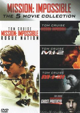 MISSION IMPOSSIBLE THE 5 MOVIE COLLECTION  poster