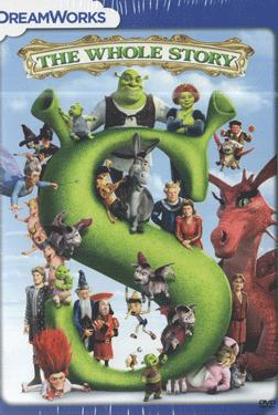 THE WHOLE STORY  SHREK  COLLECTION SET poster