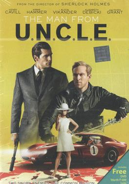 THE MAN FROM U.N.C.L.E. BluRay