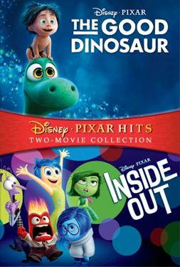 Inside Out & The Good Dinosaur poster