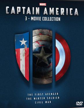 Captain America Trilogy poster