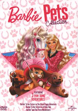 BARBIE PETS COLLECTION DVD