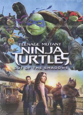 TEENAGE MUTANT NINJA TURTLES OUT OF THE SHADDOW DVD