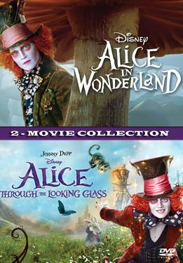 Alice in Wonderland & Alice Through the Looking Glass poster