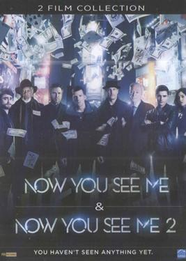NOW YOU SEE ME & NOW YOU SEE ME 2 poster