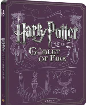 Harry Potter and the Goblet of Fire - Steelbook - BD + DVD poster