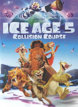 ICE AGE 5 COLLISION COURSE poster
