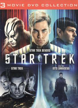 STAR TREK 3 MOVIE COLLECTION poster