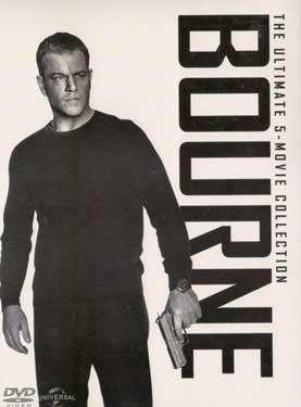 THE ULTIMATE 5 - MOVIE COLLECTION BOURNE poster
