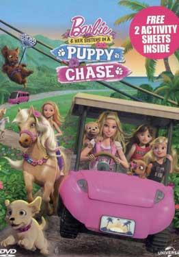 BARBIE PUPPY CHASE poster