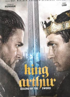 King Arthur - Legend of the Sword DVD