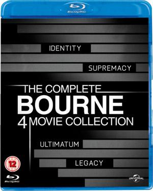 Bourne Complete Collection BluRay