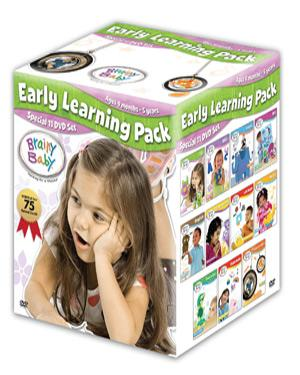 Brainy Baby - Early Learning Pack- Set of 11 dvd poster