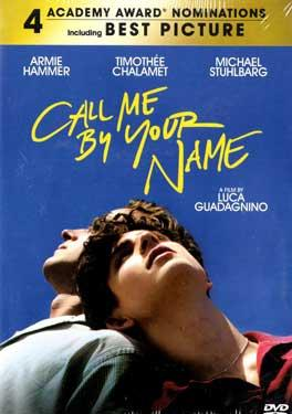 Call Me by Your Name BluRay