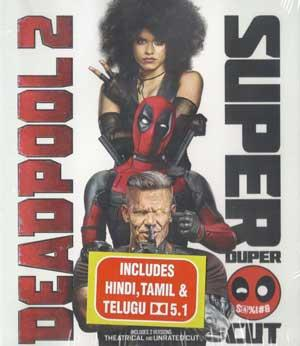 DEADPOOL 2 + SUPER DUPER CUT BluRay