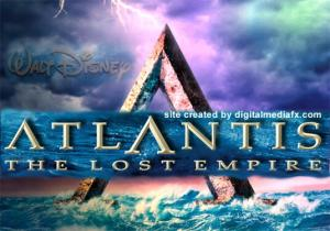 ATLANTIS LOST EMPIRE poster