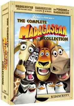 Madagascar : The Complete Collection (Gift-pack) BluRay