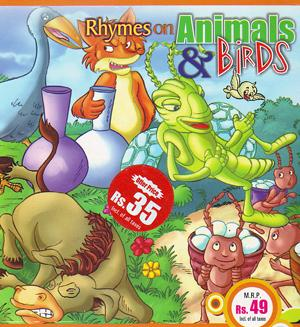 RHYMES ON ANIMALS BIRDS poster