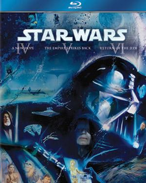 English Movie Starwars Original Trilogy Ep Iv V Vi Blu Ray