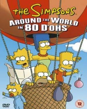 Buy English Movie The Simpsons Around The World In 80 D Ohs Vcd